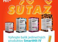 Súťaž o balík produktov SmartHit IV