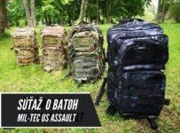Súťaž o batoh US ASSAULT