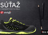 Súťaž o bezpečnostnú obuv SIXTON v hodnote 84€