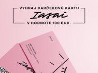 Súťaž o darčekovú kartu IASAI s kreditom v hodnote 100€