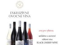 Súťaž o exkluzívne ovocné vína