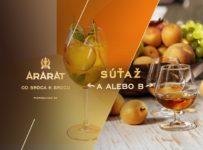 Súťaž o fľašu marhuľovej novinky ARARAT Apricot