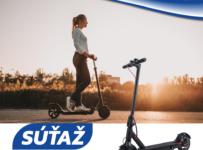 Súťaž o novinku Sencor Scooter One 2020