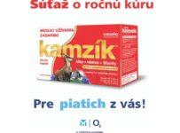 Súťaž o ročnú kúru Cemio Kamzík