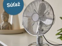Súťaž o stolový ventilátor Hailey od Möbelix