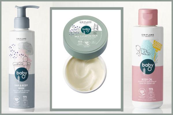 Súťaž o tri produkty detskej kozmetiky Baby O od Oriflame