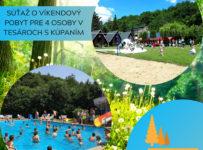 Súťaž o víkendový pobyt pre 4 osoby v RZ Tesáre-Nové Mlyny
