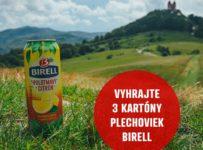 Súťaž o zásobu plechoviek Birell na celé leto