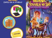 Súťaž s animákom Minna a továreň na sny o filmový balíček