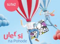 Vyhraj let balónom a vychutnaj si najuletenejšiu Pohodu