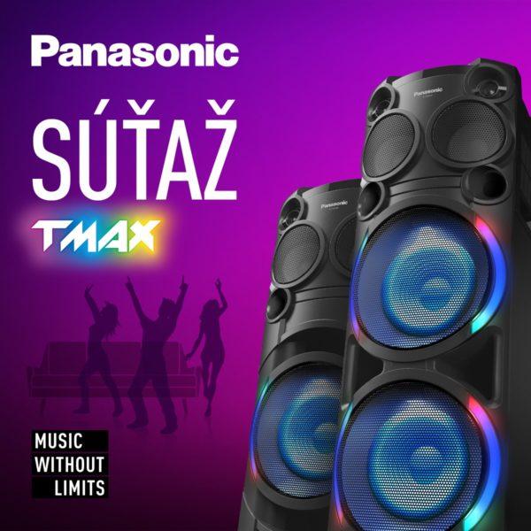 Vyhraj party speaker Panasonic TMAX