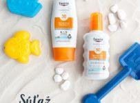 Vyhrajte Eucerin Detský sprej a mlieko s mikropigmentami Sensitive Protect