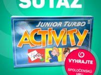Vyhrajte spoločenskú hru - ACTIVITY TURBO!