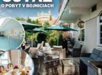 Súťaž o pobyt pre 2 osoby Hoteli pod Zámkom v Bojniciach