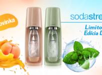 Súťaž o SodaStream SPIRIT v letnej farbe Mint Green alebo Peach