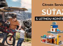 Súťaž o štýlovú garáž Citroën