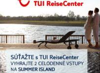 Súťaž o 2 celodenné vstupenky na Summer Island v St. Martins Therme