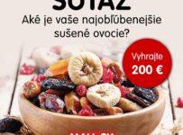 Súťaž o 200€ voucheru na nákup na MALL.SK