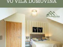 Súťaž o 3-dňový pobyt vo VILA DOMOVINA, Tatranská Lomnica