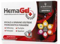 Súťaž o HemaGel prvá pomoc, ktorý urýchluje hojenie rán