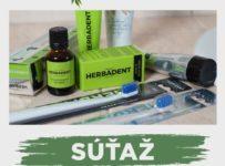 Súťaž o balíček produktov pre deti od HERBADENTU