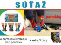 Súťaž o darčekovú krabičku plnú ponožiek