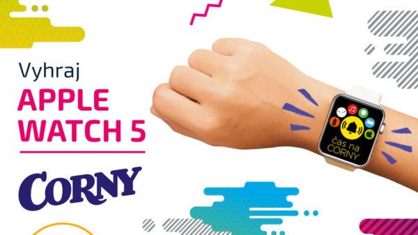 Súťaž o hodinky Apple Watch series 5 od Corny