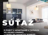Súťaž o pobyt v Tatrách a v AquaCity Poprad