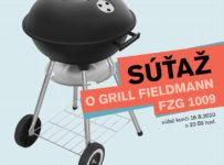 Súťaž o záhradný gril FIELDMANN FZG 1009