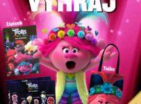 Súťaž s filmom Trollovia Svetové turné a portálom Kinosála