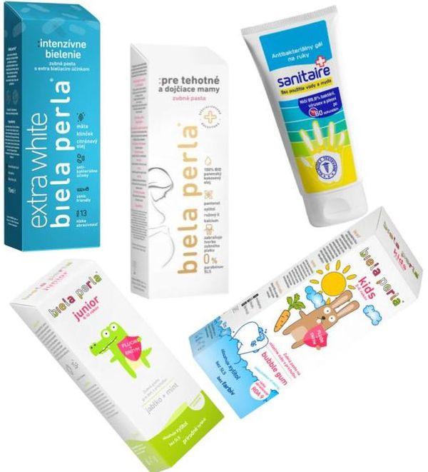 Súťažte o 3 balíčky zubných pást BIELA PERLA