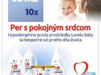 Súťaž o 10 balíčkov Lovela Baby