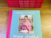 Súťaž o 10 knižiek Moja sladká výzva od Adriany Polákovej