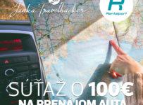Súťaž o 100€ na prenájom auta