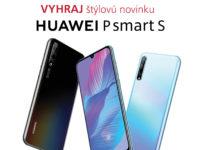 Súťaž o bezrámčekový telefón Huawei P Smart S