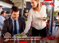 Súťaž o chutný balíček od DOXX stravné lístky