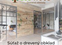Súťaž o drevený obklad z dielne Eco-Wood podľa vlastného výberu