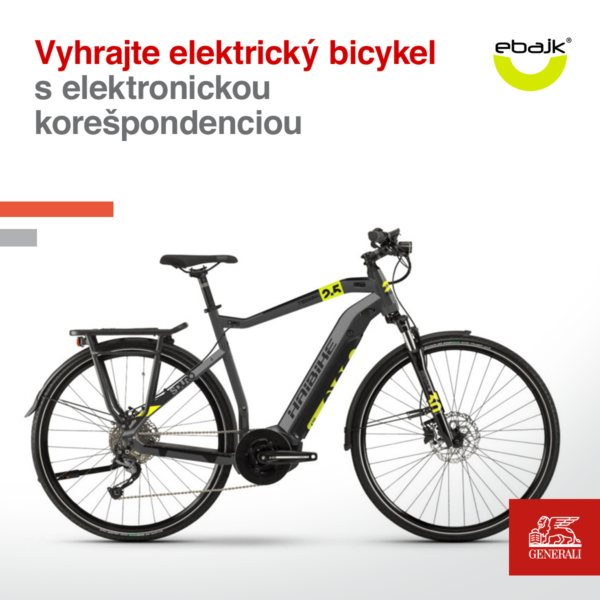 Súťaž o elektrický bicykel Haibike SDURO Trekking 2.5 2020 v hodnote 2499€