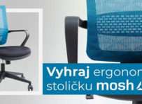 Súťaž o ergonomickú stoličku Mosh BS-306