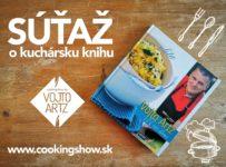 Súťaž o kuchárske knihy od Vojto Artz