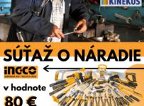 Súťaž o kufrík náradia INGCO v hodnote 80€