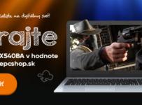 Vyhrajte notebook Asus X540 v hodnote 399€