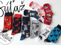Súťaž o o psíčkárske ponožky