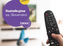 Súťaž o smart TV od SWANu