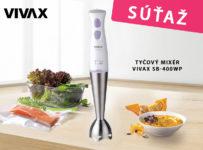 Súťaž o tyčový mixér značky VIVAX