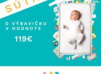 Súťaž o výbavičku od Slovak Baby Box v až 119€