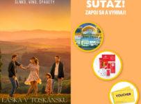 Súťaž s filmom Láska v Toskánsku