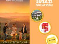 Súťaž s portálom Kinosála a s filmom Láska v Toskánsku
