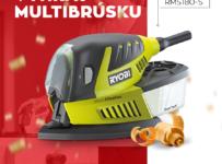 Súťaž 180W Multibrúsku (3 v 1) značky Ryobi