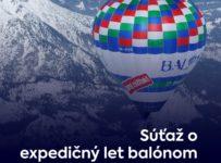 Súťaž o zimný expedičný let balónom nad Tatrami